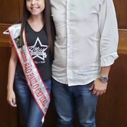 sao paulo capital Giovanna Silva Costa foi recebida no gabinete do prefeito da Capital, Bruno Covas. Foi um dia muito emocionante, o
